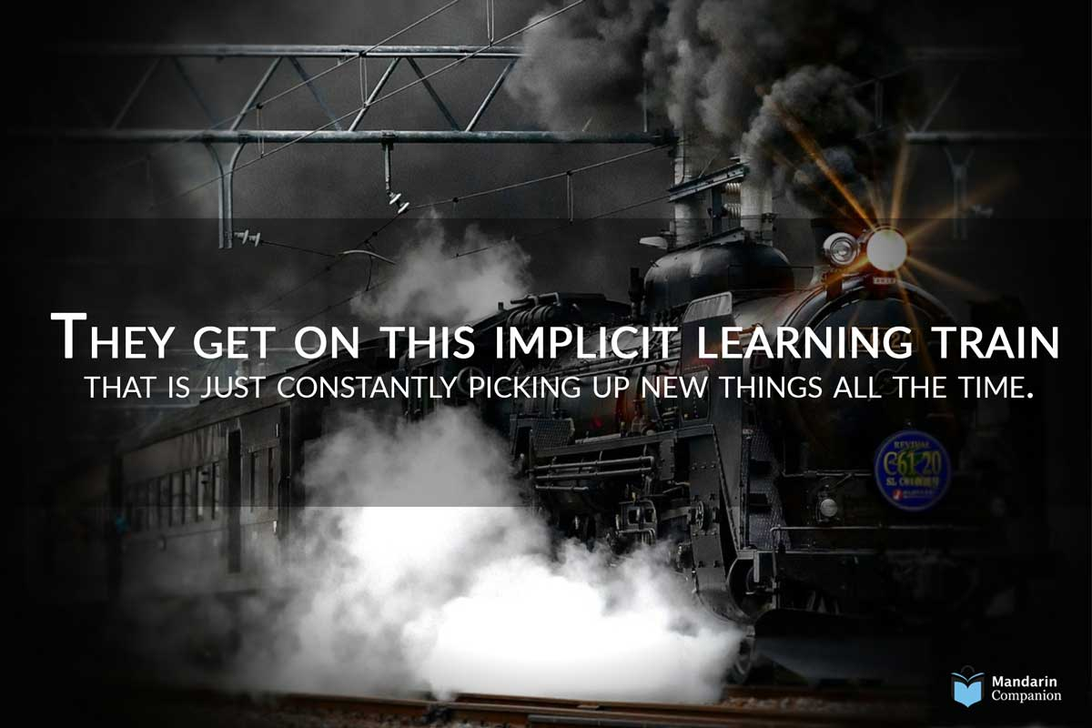 get on this implicit learning train meme
